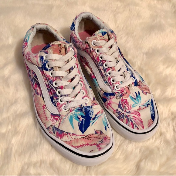 Women s Vans Floral Old Skool Tropical Multi 26d3dd566b